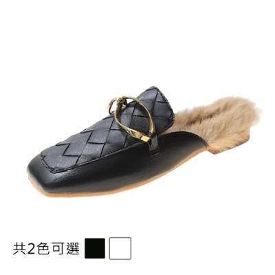 KEITH-WILL時尚鞋館 好感吸晴冷艷美人平底平底樂福鞋