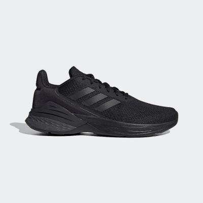 ADIDAS 慢跑鞋 緩震 輕量 透氣 運動鞋 男鞋 黑 FX3627 RESPONSE SR