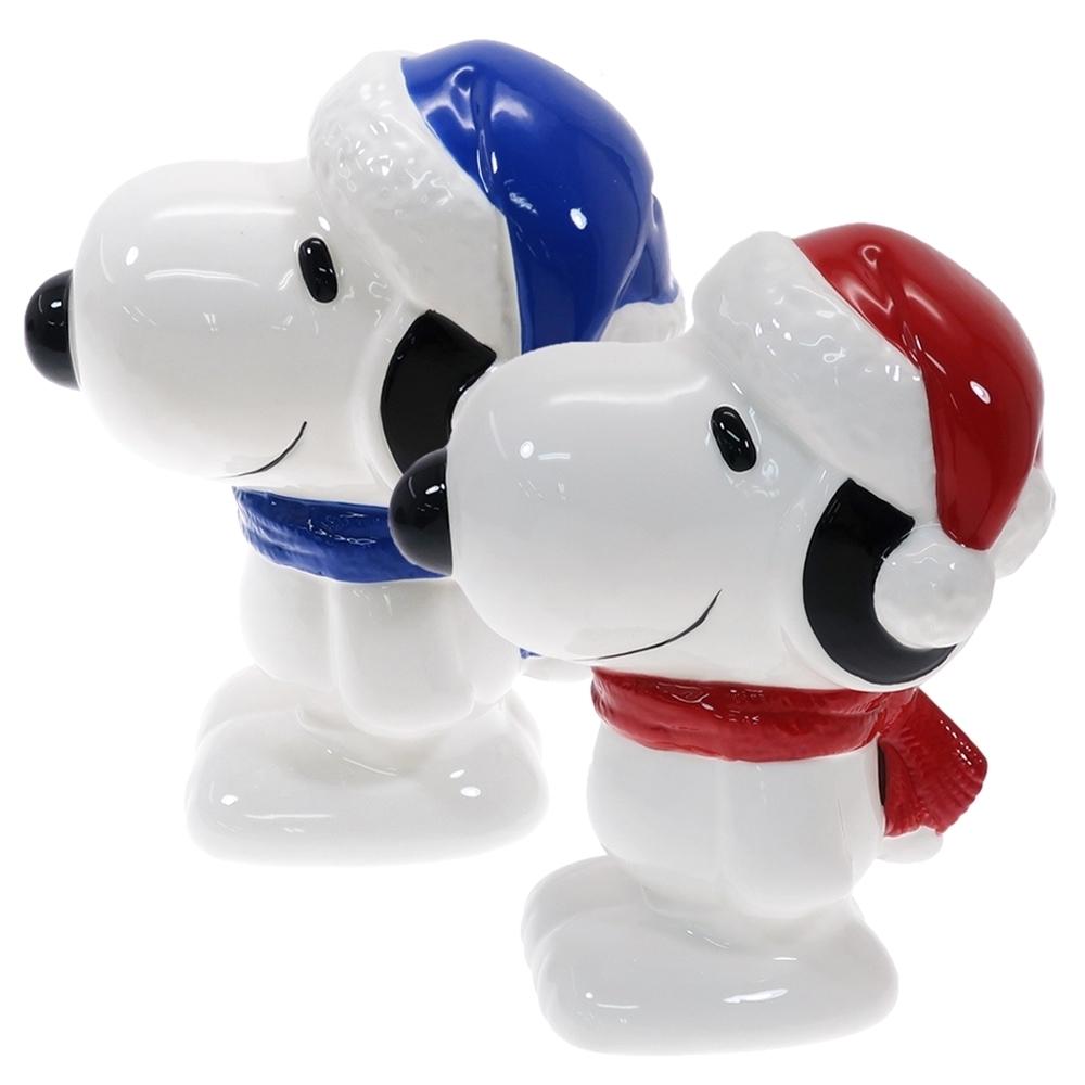 日本MARIMO CRAFT中型史努比存錢筒SNOOPY撲滿SPY-579紅帽/SPY-580藍帽史奴比貯金箱儲錢筒儲蓄罐(陶製;約H150×W90×D130mm)日本原裝進口