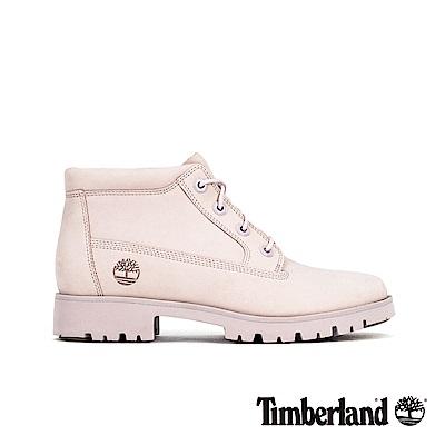 Timberland 女款淺紫色磨砂革經典靴 A1X55