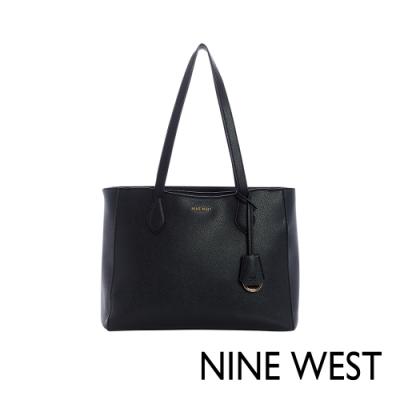 NINE WEST SHAYDEN大容量單肩托特包-黑色(117223)