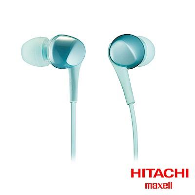 HITACHI Maxell (MXH-C100)密閉Dynamic型耳塞式耳機(水藍)