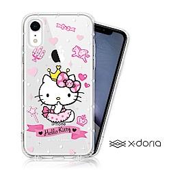 Hello Kitty iPhone XR 彩繪水鑽手機空壓殼 - 仙女
