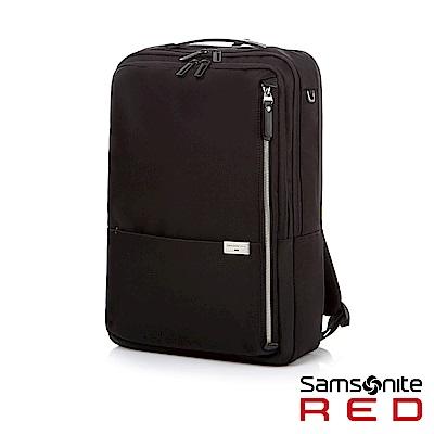 Samsonite RED AURICE 都會商務輕量筆電後背包15.6 (黑)
