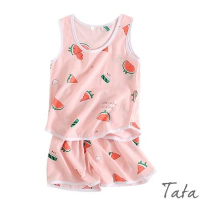兒童 清涼西瓜居家服套裝 TATA KIDS