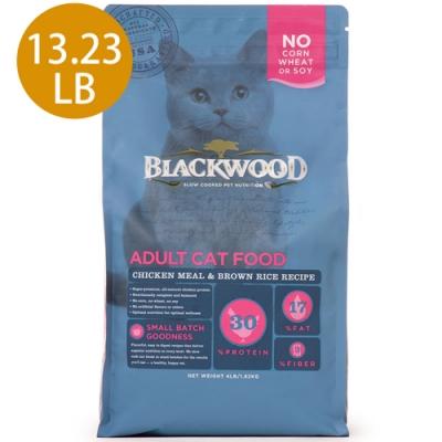 Blackwood柏萊富-特調成貓亮毛配方(雞肉+糙米)13.23LB