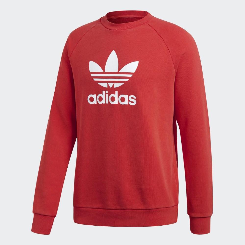 adidas 大學T Trefoil Warm-Up 休閒 男款