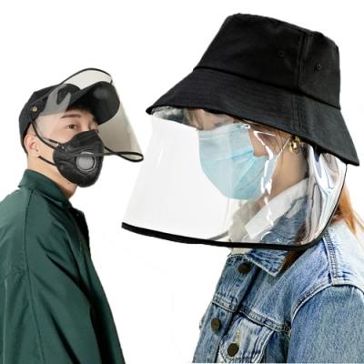防塵防飛沫防護遮陽帽