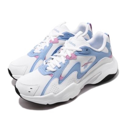 Reebok 休閒鞋 Royal Turbo Impulse 女鞋 厚底 舒適 簡約 球鞋 穿搭 大童 白 藍 FV2791