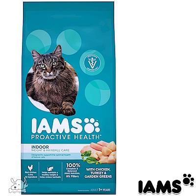 IAMS 愛慕思 健康優活 雞肉+火雞 室內成貓糧 7磅