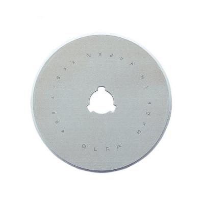 日本製造OLFA滾輪式圓形替刃60mm圓型刀片RB60-5(5片入;高碳鋼)