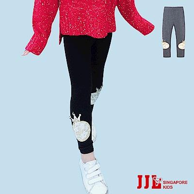 JJLKIDS 可愛皇冠造型棉質內搭褲(2色)