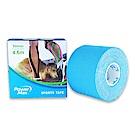 PowerMax 運動肌效能貼布/給力貼 50mm(水藍)-快速到貨