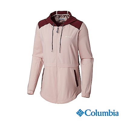 Columbia 哥倫比亞 女款-UPF50快排外套-粉紅 UAK26440PK