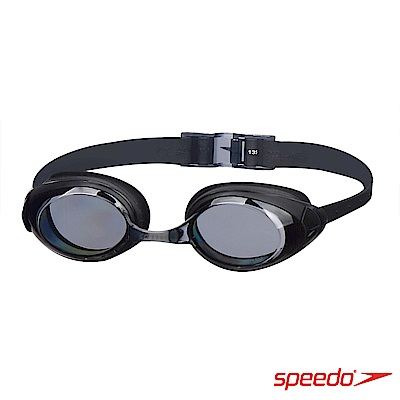 SPEEDO 成人 進階型泳鏡 Cyclone II 黑/灰
