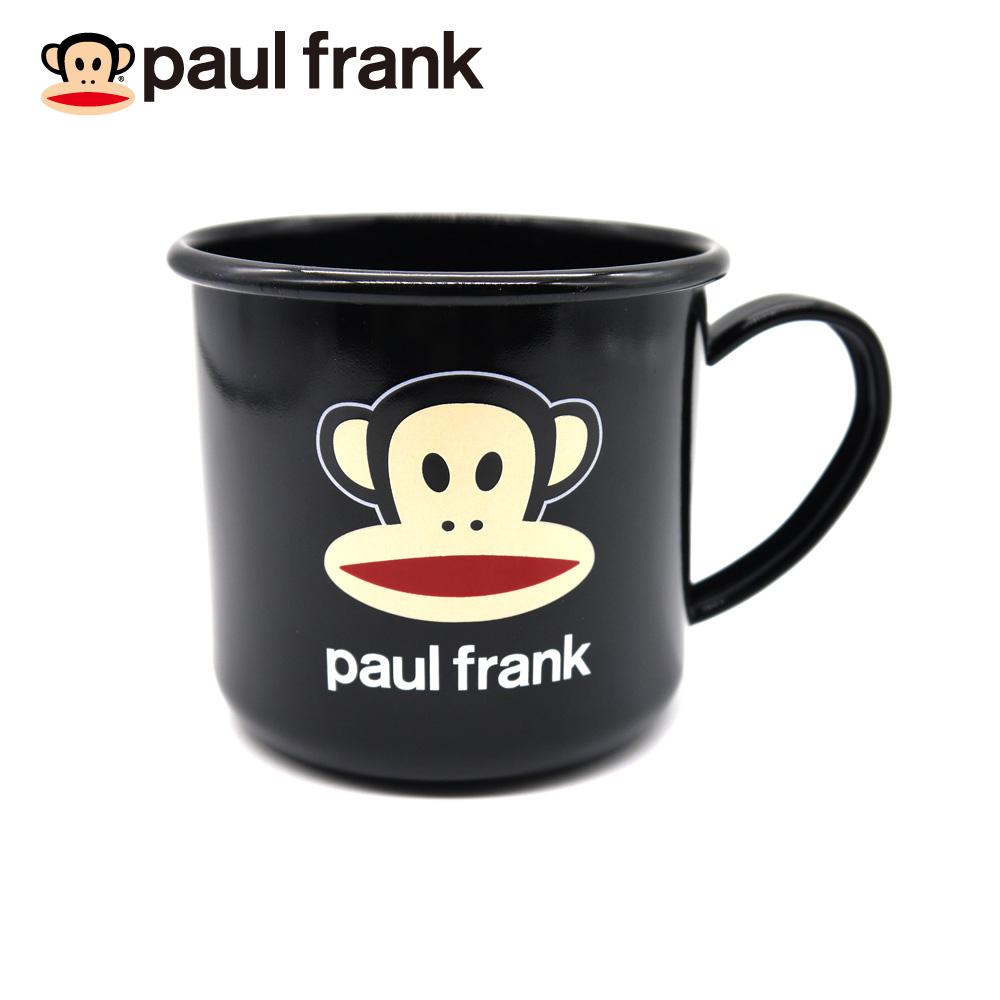 PAUL FRANK 經典黑色琺瑯杯
