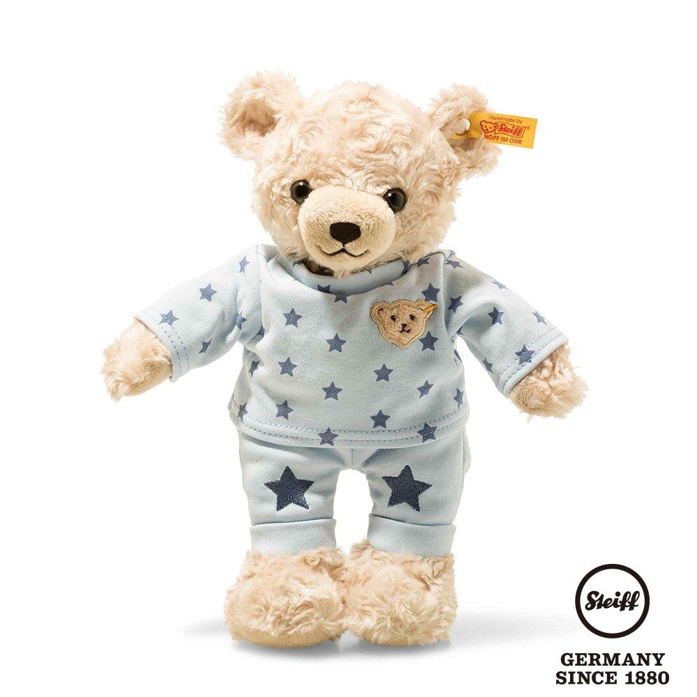 STEIFF德國金耳釦泰迪熊 Teddy Bear Boy with pyjama 星星睡衣小男孩