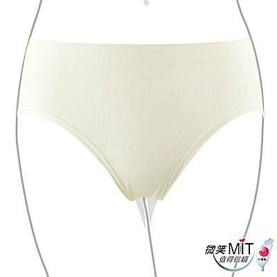 推EASY SHOP-iMEWE 中低腰三角褲(純真白)