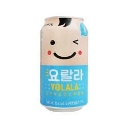 Lotte 樂天乳酸味氣泡飲(340ml)