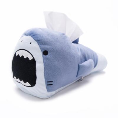 任- 日本進口 日版 鯊魚哥 鯊魚 大白鯊 藍灰色 面紙套