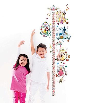 【itaste小品味】迪士尼公主系列身高壁貼50cm*70cm