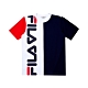 FILA #日潮攻略首部曲 短袖圓領T恤-白色 1TEU-1409-WT product thumbnail 1