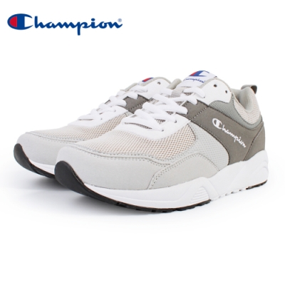 【Champion】TRACE BACK 復古運動鞋 男鞋-灰(MFUS-9020-02)