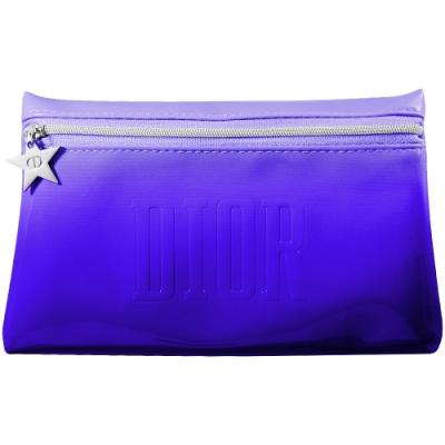 Dior 迪奧 幸運星炫色搖滾造型包(#藍色漸層漆皮款)