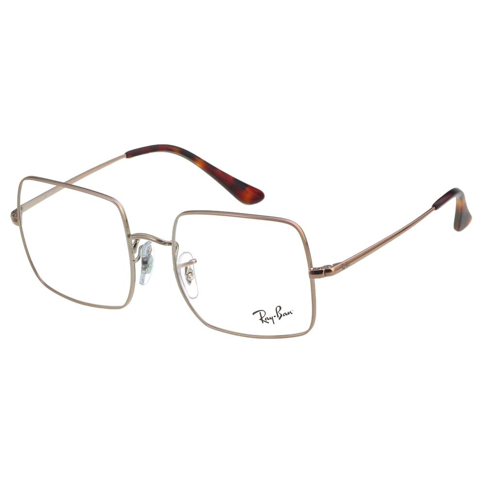 RAY BAN 方框 光學眼鏡(咖啡色)