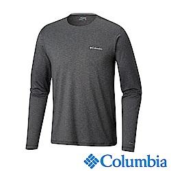 Columbia哥倫比亞 男款-Omni-SHADE 防曬50快排長袖上衣-深灰