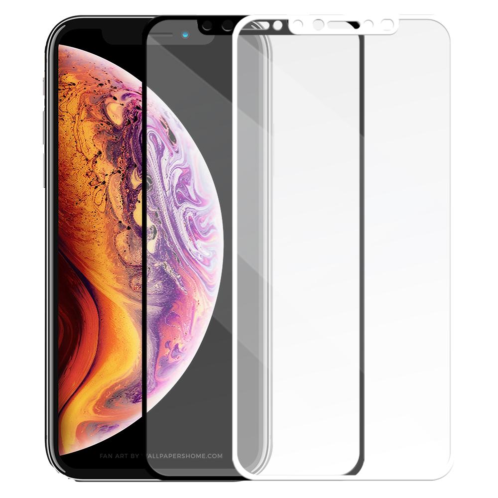 Metal-Slim Apple iPhone XS 滿版鋼化玻璃保護貼