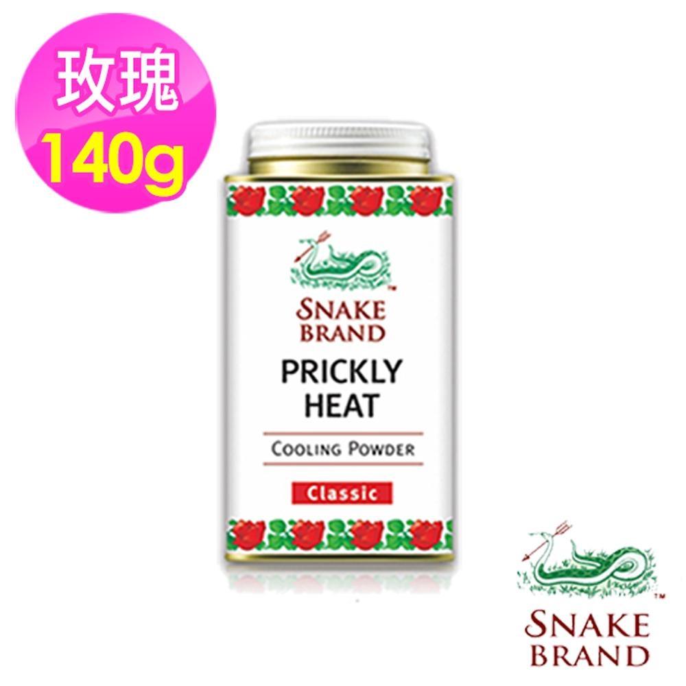 泰國【SnakeBrand蛇牌】爽身痱子粉140g-紅色玫瑰