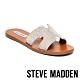 STEVE MADDEN-HOLLYWOOD 好萊塢水鑽皮革簍空拖鞋-金銅色 product thumbnail 1