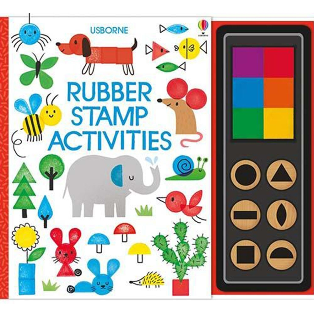 Rubber Stamp Activities 印章玩樂遊戲書