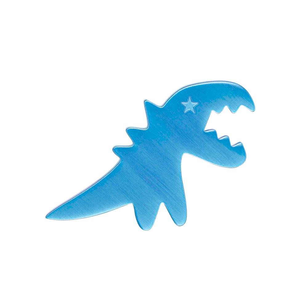 Sport b. 恐龍圖案別針 (藍)