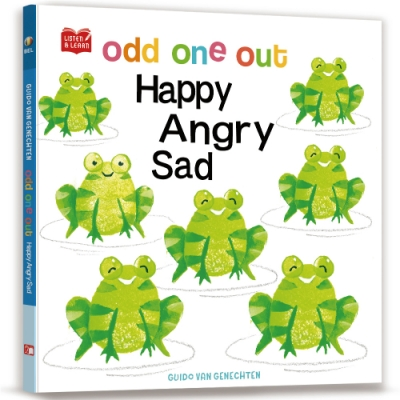 Odd One Out. Happy Angry Sad