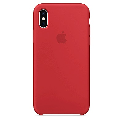 iPhone XS 矽膠保護殼