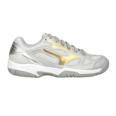 MIZUNO CYCLONE SPEED 2 男女排球鞋-訓練 運動 美津濃 V1GA198007 灰金銀