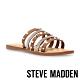 STEVE MADDEN-MIKAH 時尚飾扣皮質涼拖鞋-咖啡色 product thumbnail 1