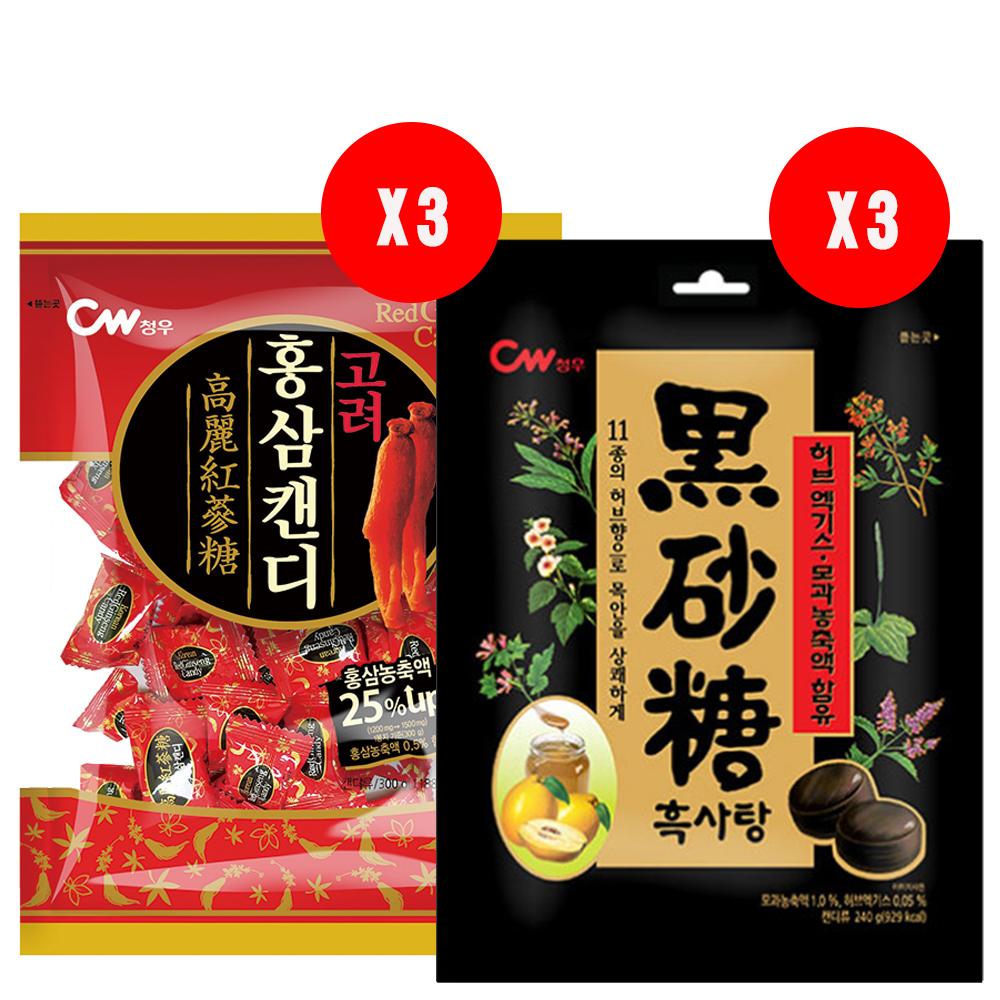 韓國CW風味糖-限量組(6袋) @ Y!購物