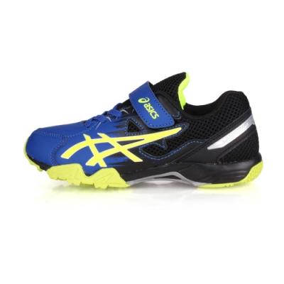 ASICS 中童運動鞋 LAZERBEAM SD-MG 藍黑螢光綠