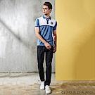 GIORDANO 男裝水洗基本款中腰錐形牛仔褲 - 50 水洗藍
