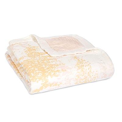 美國aden anais嬰幼兒絲柔(竹纖維)被毯-春天粉系列AA9320