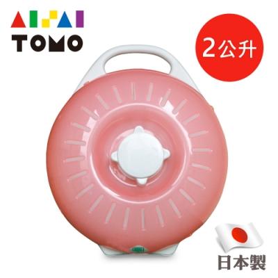 日本丹下立湯婆 立式熱水袋-L&B型2.0L(粉色)