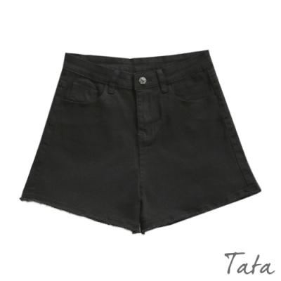 抽鬚不收邊牛仔短褲 TATA-(S~L)
