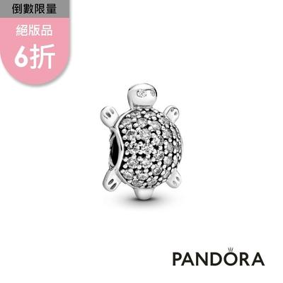 【Pandora官方直營】海龜鋯石串飾