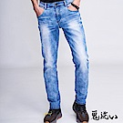 鬼洗 BLUE WAY 經典鬼洗-755天絲激彈舒適小直筒褲