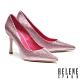 高跟鞋 HELENE SPARK 華麗閃耀金蔥全真皮尖頭美型高跟鞋-粉 product thumbnail 1