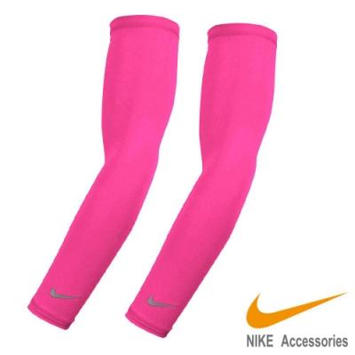 NIKE 輕量臂套 粉紅色