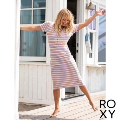 【ROXY】BRING IT ON 洋裝 淺紫